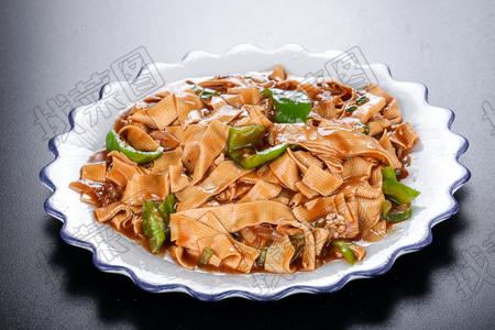 尖椒干豆腐 - 找菜图
