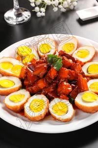 红焖肉鸡蛋小白菜 - 找菜图