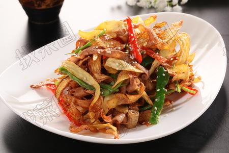 干姜炒鸭肠 - 找菜图