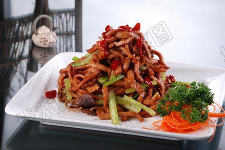 干煸牛肉茶树菇 - 找菜图