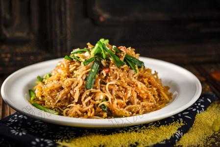小米油渣土豆丝 - 找菜图