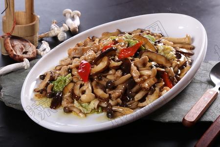 小炒三味菇 - 找菜图