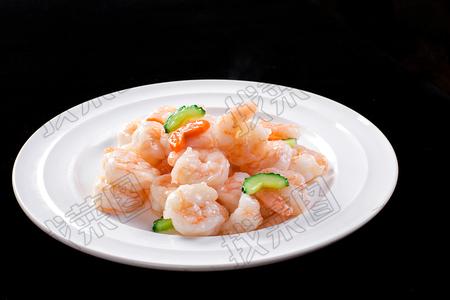 清炒虾仁 - 找菜图