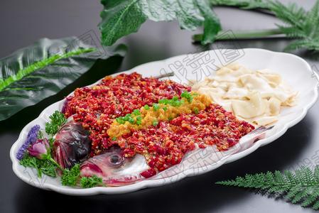 剁椒鱼头烩面 - 找菜图