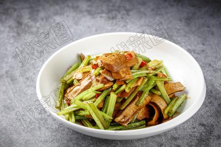 香芹炒豆干 - 找菜图