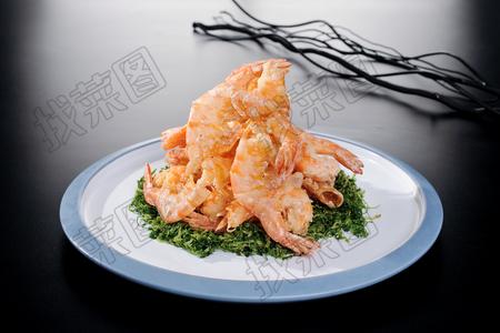 蜜汁脆皮虾 - 找菜图