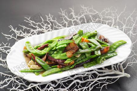 腊肉荷兰豆 - 找菜图