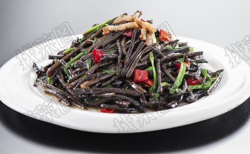 肉炒山蕨菜 - 找菜图