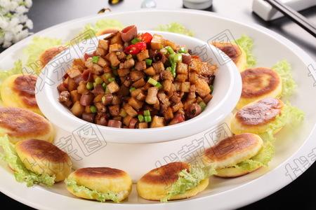 海味菌香小饼 - 找菜图