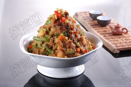 压锅日本土豆刀豆角 - 找菜图