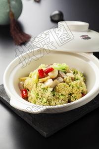干锅有机菜花 - 找菜图