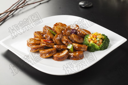 日式煎酿杏鲍菇 - 找菜图