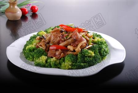 兰花杂菌培根肉 - 找菜图