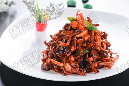 肉酱野山菌 - 找菜图