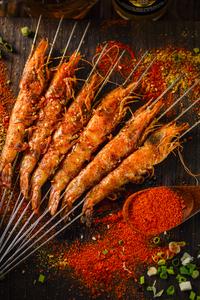 烤大虾 - 找菜图