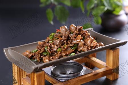 小炒胗片 - 找菜图