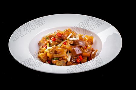 双椒炒猪手 - 找菜图