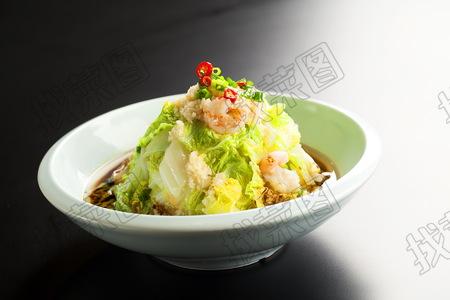 虾仁烹海味津白 - 找菜图