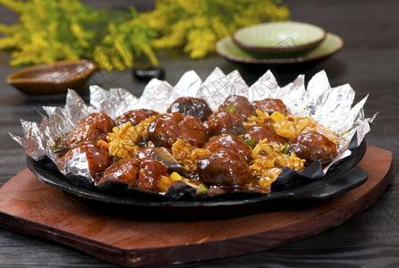铁板烧汁香菇 - 找菜图