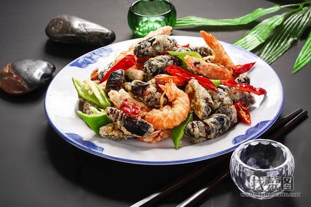 香辣蚕蛹基尾虾 - 找菜图