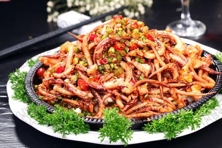 铁板鱿鱼 - 找菜图