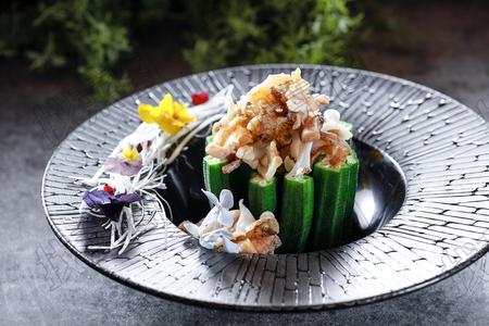 秋葵螺片 - 找菜图
