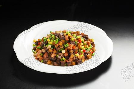 蒜台牛肉粒 - 找菜图