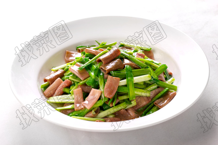 海肠炒韭菜 - 找菜图