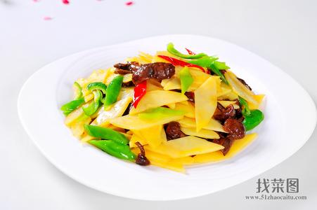 黄蘑小辣椒土豆片 - 找菜图