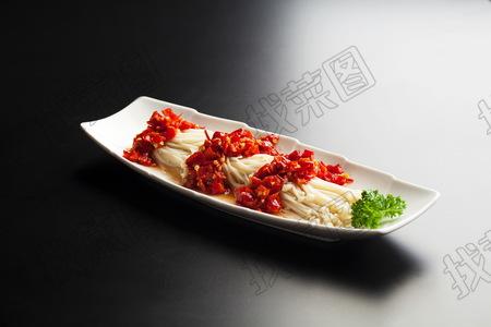 剁椒金针菇 - 找菜图