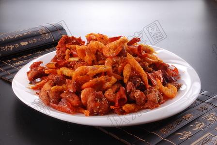 辣子江虾鸡 - 找菜图