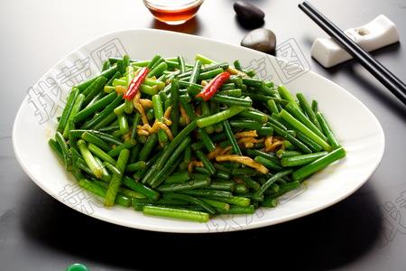 肉炒蒜苔 - 找菜图